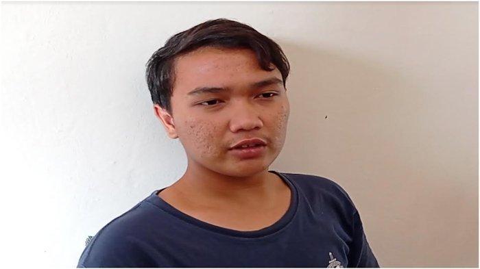 Muhammad Aldi (18) korban penculikan yang sempat disekap 17 hari.