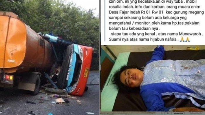 Munawaroh, Korban Kecelakaan Bus Rosalia Indah Keluarga Belum Tahu Keadaannya Sampai Kini