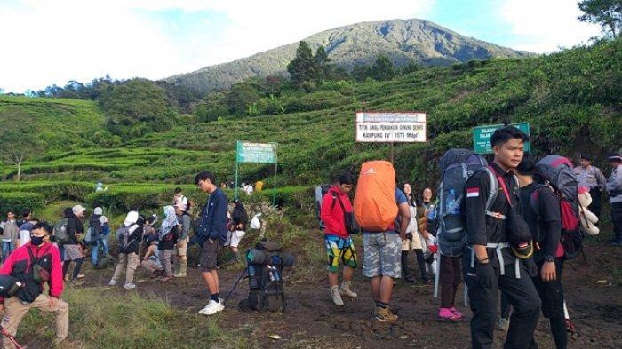 Pendakian ke Gunung Dempo Ditutup Lima Hari Mulai 18 hingga 22 Februari 2021