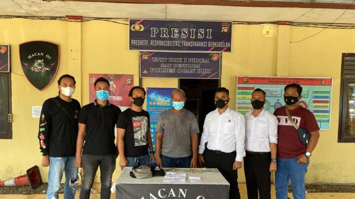 Sering Palak Pengendara, Preman Tua di Simpang Meranjat OI Dibekuk Polisi