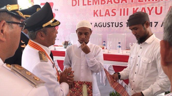 Ketika Napi Terorisme Bacakan Ikrar Setia NKRI :  Kami Cinta Indonesia