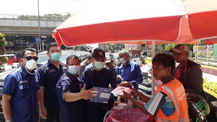 Aksi DPW dan Fraksi Nasdem Sumsel Sosialisasi dan Antisipasi Penyebaran Virus Covid-19