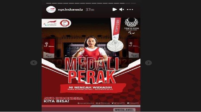 Ni Nengah Widiasih Sumbang Medali Pertama untuk Indonesia di Paralimpiade Tokyo, Ini Kata Jokowi