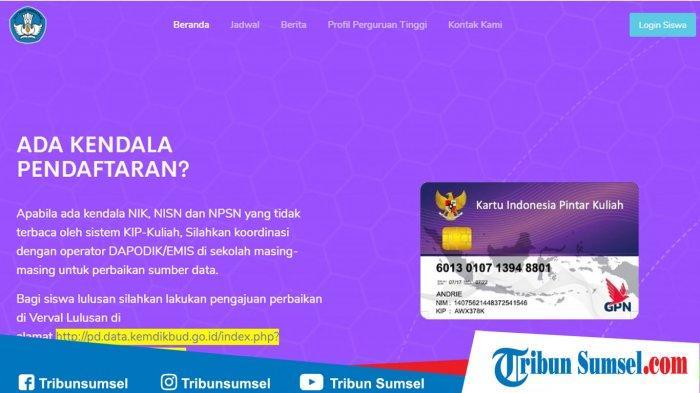 Cara Membuat Kartu Indonesia Pintar Kip Lengkap Dengan Langkah Langkah Dan Persyaratannya Tribun Sumsel