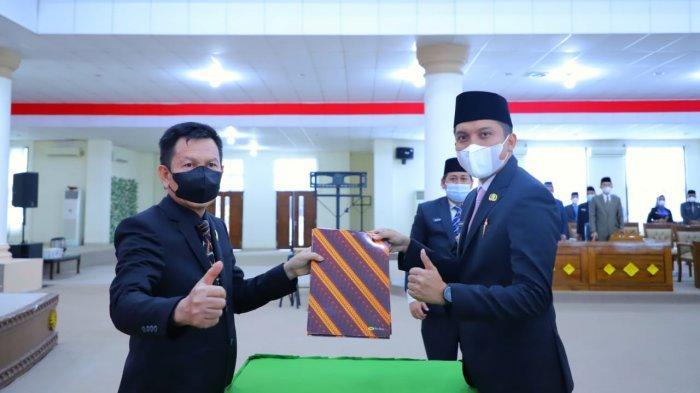 KUA-PPAS APBD Kabupaten Ogan Ilir Tahun Anggaran 2021 Disepakati Pemkab dan DPRD Ogan Ilir