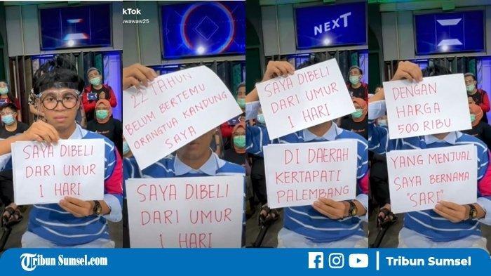 Viral, Seorang Pria Cari Orangtua Kandungnya, Ngaku Dijual Rp 500 Ribu Saat Bayi di Palembang