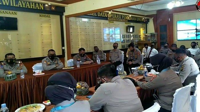 Polres OI Sambut Kedatangan Tim Audit Itwasda Polda Sumsel Bidang Aspek Perencanaan dan Pengorganisasian.
