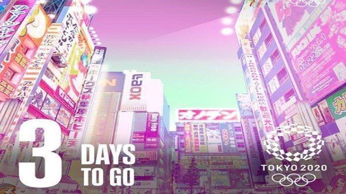 Ini Jadwal Opening Ceremony Olimpiade Tokyo 2020 dan Konsep Acaranya, Disiarkan Langsung TVRI