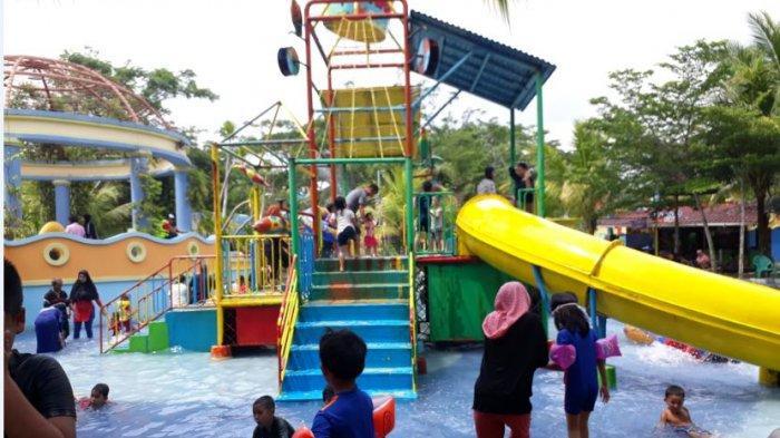 Liburan Seru di OPI Water Fun, Ada Seluncuran Sepanjang 111 Meter dengan Ketinggian 12,5 meter