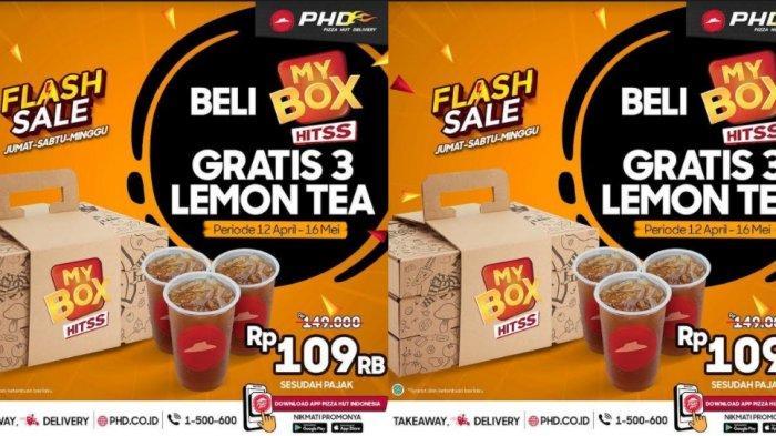 Buka Puasa Seru Bertiga Cuma Rp 100 Ribuan dengan Pizza Box, Berlaku Akhir Pekan