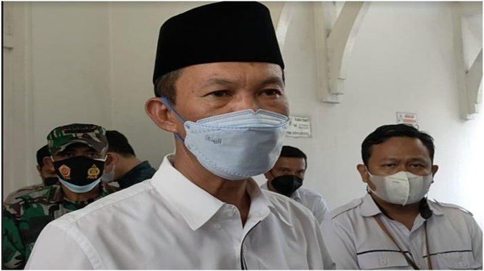 Harnojoyo Kurbankan Tiga Ekor Sapi di Masjid AgungPalembang, Total Beratnya 3 Ton