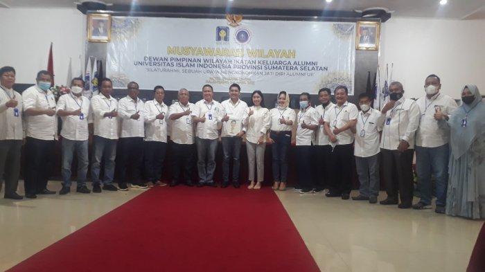 Panca Wijaya Akbar Terpilih Ketua DPW IKA UII Sumsel Periode 2021-2024