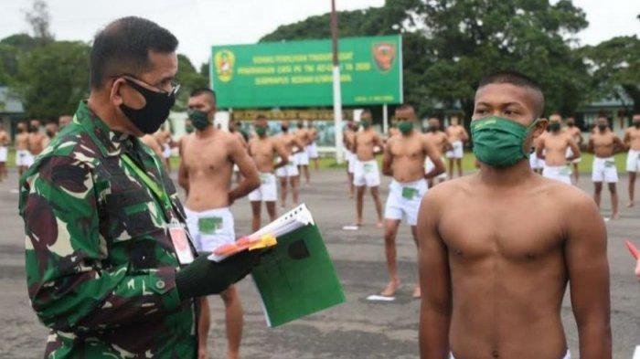563 Pemuda Lulus Seleksi Jadi Prajurit TNI