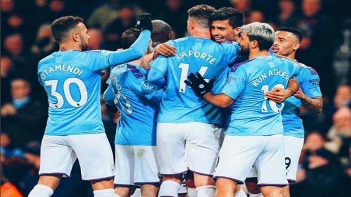 LIVE Streaming Manchester City vs Aston Villa,  The Citizens Incar Puncak Klasemen  Liga Inggris