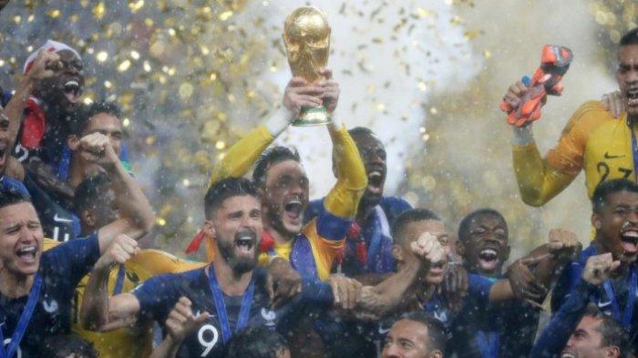 3 Pemain Jadi Jimat dan Tumbal Prancis dalam Meraih Titel Piala Dunia 2018