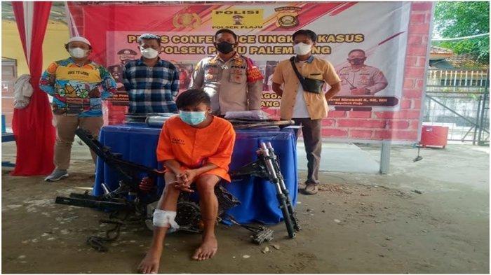 Polres Banyuasin Amankan 37 Tersangka dari 29 Kasus Kejahatan, Curanmor Hingga Rudapaksa
