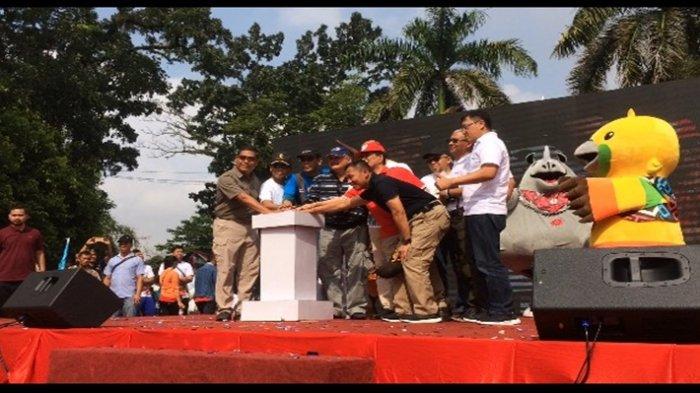 Alex Noerdin Sebut Parade Asian Games Festival Rakyat untuk Rakyat