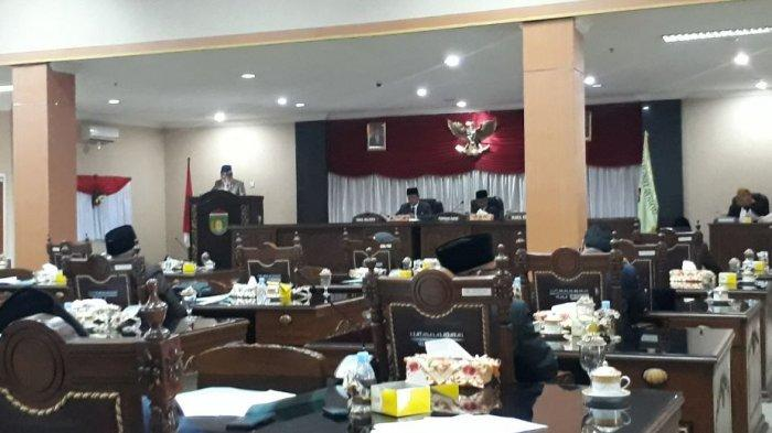 Rapat Paripurna DPRD Prabumulih Hari Ini Berlangsung Haru, Jadi Ajang Pamitan