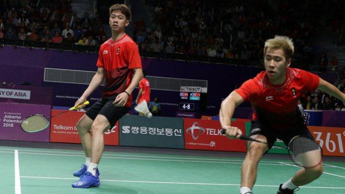 Hasil Japan Open 2018-Kevin Sanjaya/Marcus Gideon ke Perempat Final Usai Singkirkan Rekan Senegara