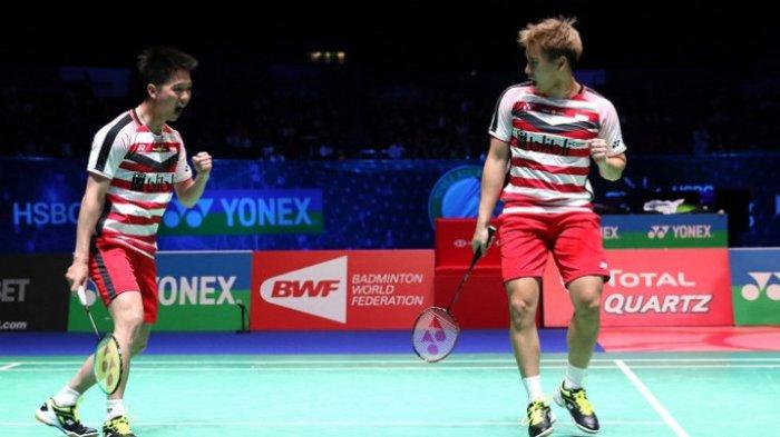 Link Live Streaming Piala Thomas 2018: Indonesia VS Korea Selatan, Siapa Jadi Juara Grup