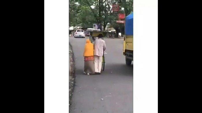 Berusia 85 Tahun, Satirun dan Istri Berjualan Es Dawet Keliling Puluhan Kilometer, Demi Hidup