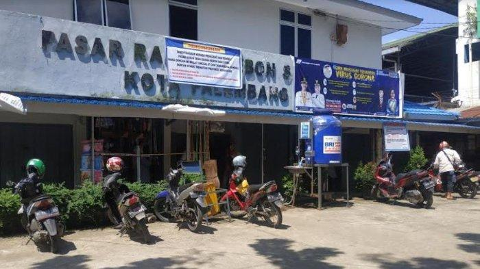 25 Orang Positif Corona, Pasar Kebon Semai Palembang Ditutup, Pemkot Rapid Test Massal