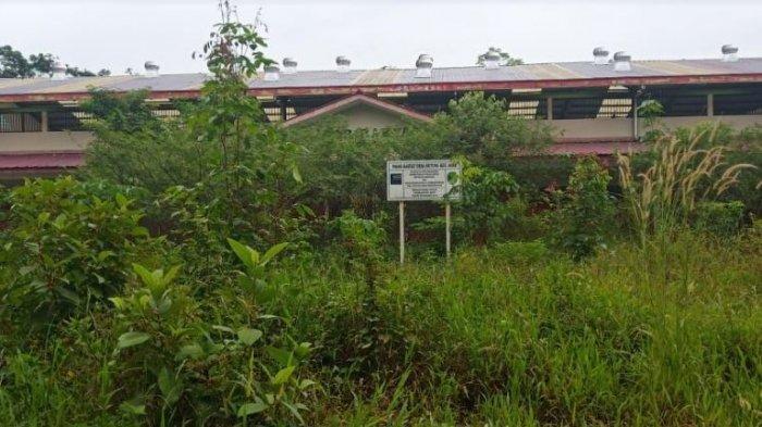 Gunakan Dana Rp 5 Miliar, Gedung Pasar Rakyat Desa Betung PALI Rusak Tak Kunjung Digunakan