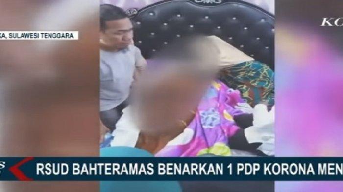 Viral Video Detik-detik Keluarga Pasien PDP Corona di Kendari Bawa Pulang Jenazah, Plastik Dirobek