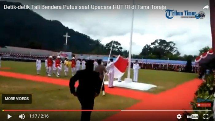 Detik-detik Paskibra Gagal Naikkan Bendera, Dandim Marah Besar!
