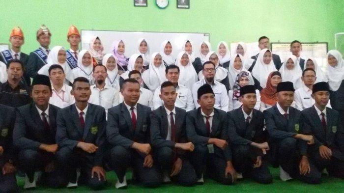Lambang PASMANTU Berkibar di SMA Unggul Negeri 8 Palembang