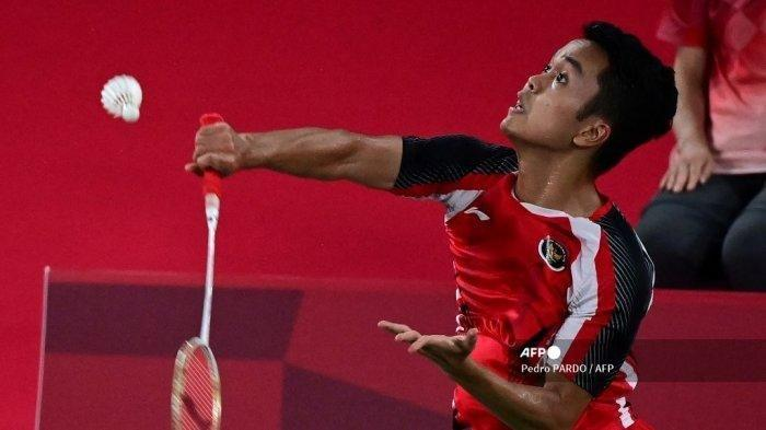 Head to Head Ginting vs Antonsen di 8 Besar Olimpiade 2020, Peluang Emas Terakhir di Tunggal Putra