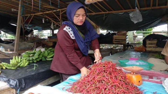 Harga Cabai Rawit Merah di Lubuklinggau Tembus Rp 80 Ribu per Kg