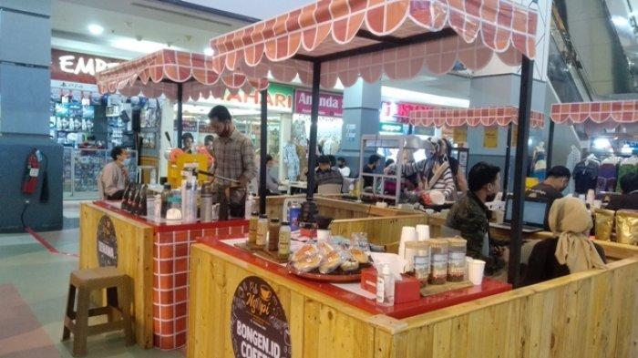 'Peh Ngopi' di Atrium Palembang Square (PS) Mall, Ada yang Siap Seduh hingga Siap Minum