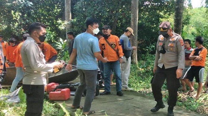 Sudah Dilarang Menyebrang Sungai Pakai Celana Jeans, Pekerja Sutet asal Jabar Tenggelam di OKU