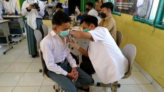 Pelajar SMKN 1 Muratara Antusias Ingin Divaksin, Takut Lanjut Kuliah Ada Syarat Kartu Vaksin
