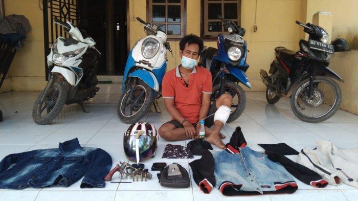 Inilah Spesialis Begal Sepeda Motor di Lempuing OKI, Satu Ditangkap Tiga Kabur