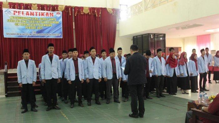 Pelantikan SEMA, DEMA dan HMJ Fakultas Ilmu tarbiyah dan Kegutuan UIN Raden Fatah Palembang