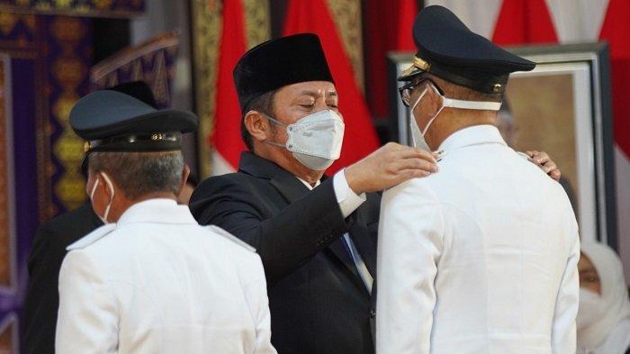 Lantik Pasangan Heri Amalindo-Soemarjono, Ini Pesan Gubernur Sumsel Herman Deru