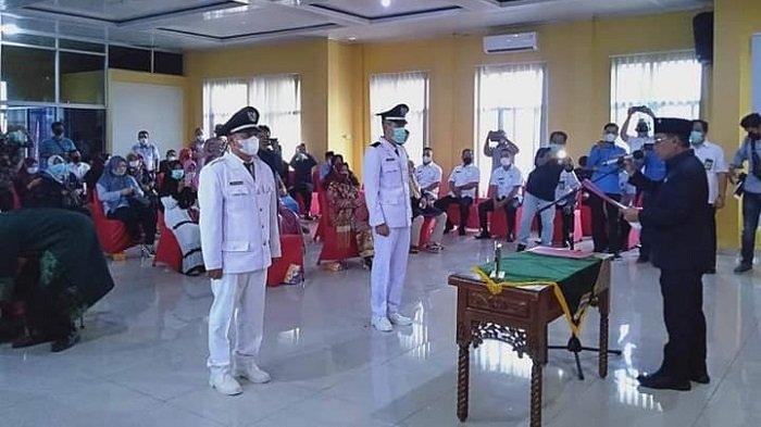 Junsi Rosyadi dan Muhazoni Dilantik, Ini Pesan Bupati Muratara Devi Suhartoni pada Seluruh Kades