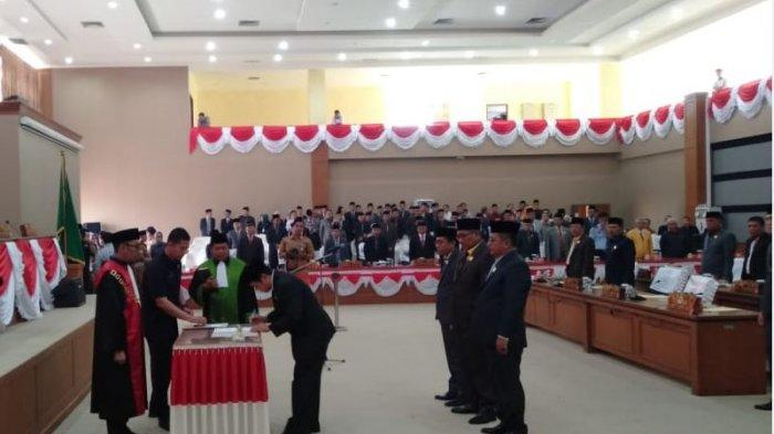 Aries HB Resmi Jabat Ketua DPRD Muara Enim Periode 2019-2024, Ini Nama Wakil Ketua