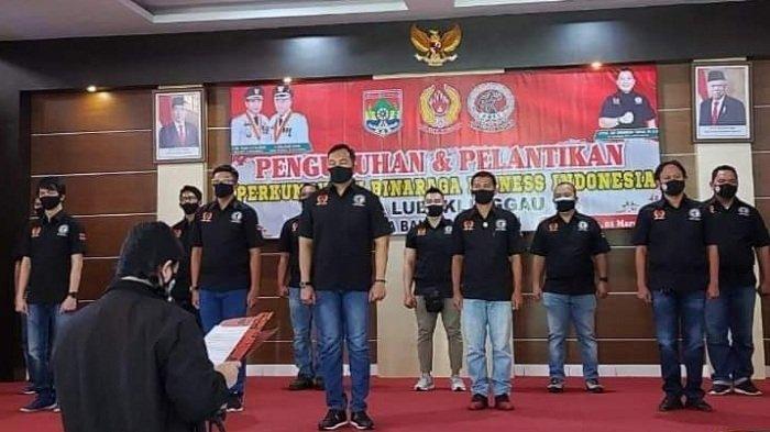 Dandim 0406/MLM Letkol Inf Erwinsyah Taufan Dikukuhkan Ketua PBFI Kota Lubuklinggau