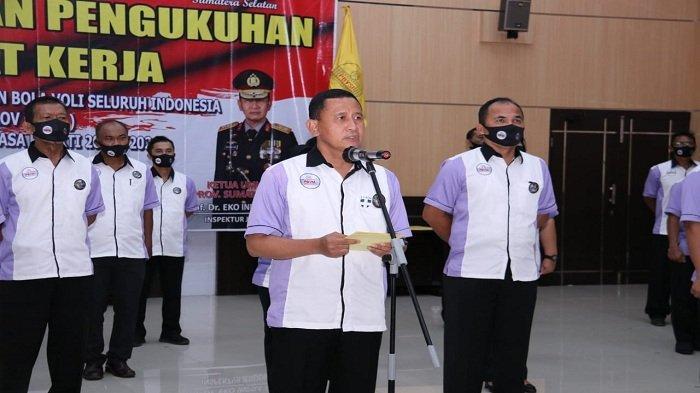 Kapolda Sumsel Irjen Eko Indra Heri Dilantik dan Dikukuhkan sebagai Ketua Umum PBVSI Provinsi Sumsel