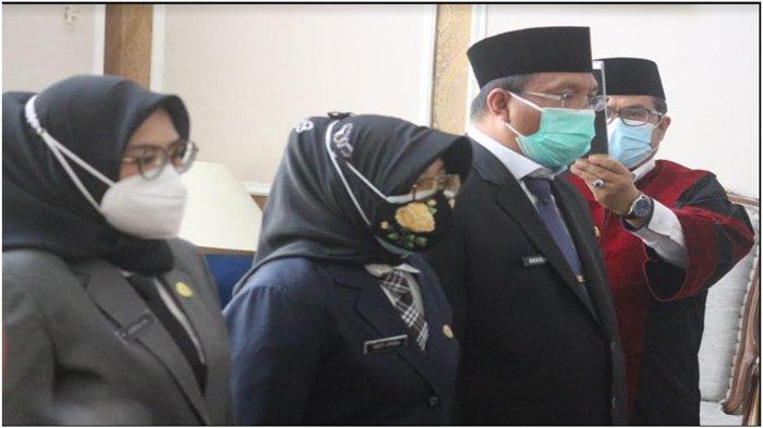Walikota Harnojoyo Lantik Sejumlah Pejabat Eselon II Pemkot Palembang , Ini Daftar Nama-namanya