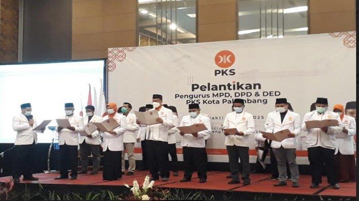 Pengurus DPD PKS Palembang Dilantik, Ini Target Hingga 2025 Mendatang
