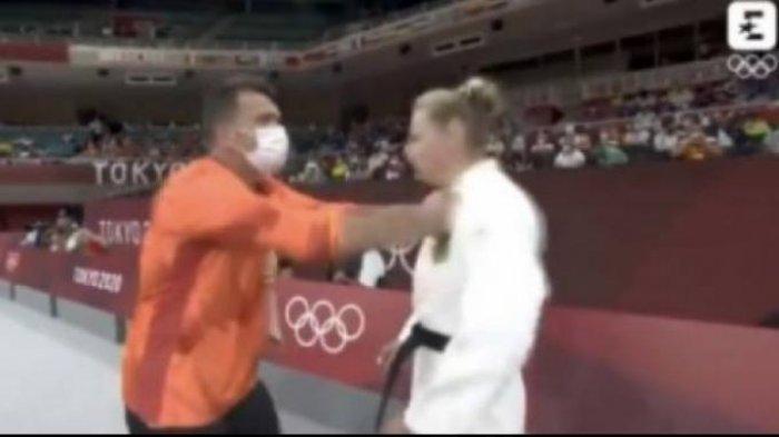 Viral Pelatih Judo Tampar Atlet Perempuan Sebelum Bertanding di Olimpiade Tokyo 2020, Ini Faktanya