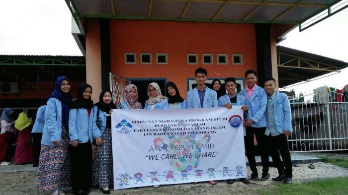 Mahasiswa UIN Raden Fatah Berbagi Kasih Bersama Pejuang Kanker
