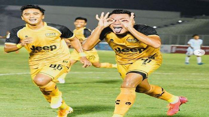 Biodata Profil Slamet Budiyono, Top Skor Sementara Liga 2, Jebolan SFC Membela Martapura Dewa United