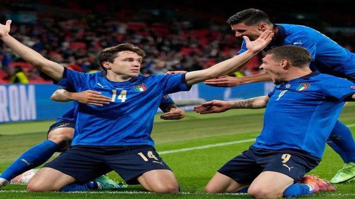 Hasil Perempat Final Euro 2020 Semalam : Italia dan Spanyol Lolos ke Semifinal Lewati Laga Sulit