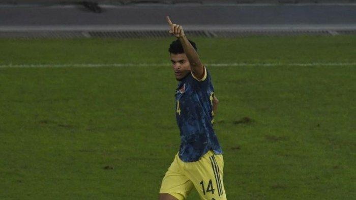 Samai Torehan 4 Gol Messi di Copa America 2021, Ini Profil Luis Diaz, Winger Tajam Asal Kolombia