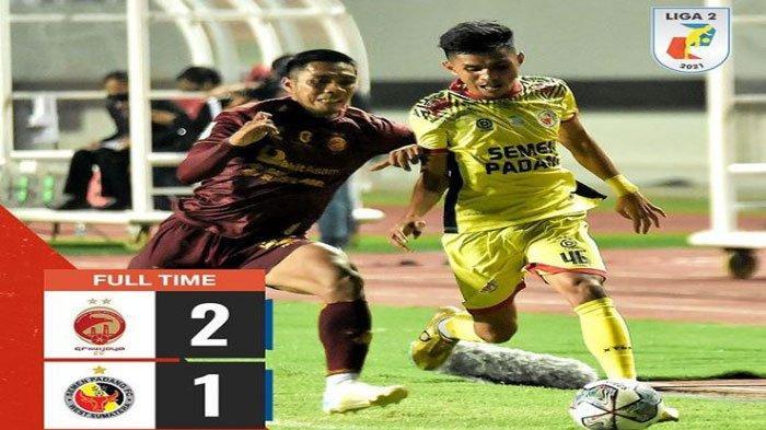 Hasil dan Klasemen Sementara Grup A Liga 2, Ini Jadwal PSPS Riau, Sriwijaya FC, PSMS Medan